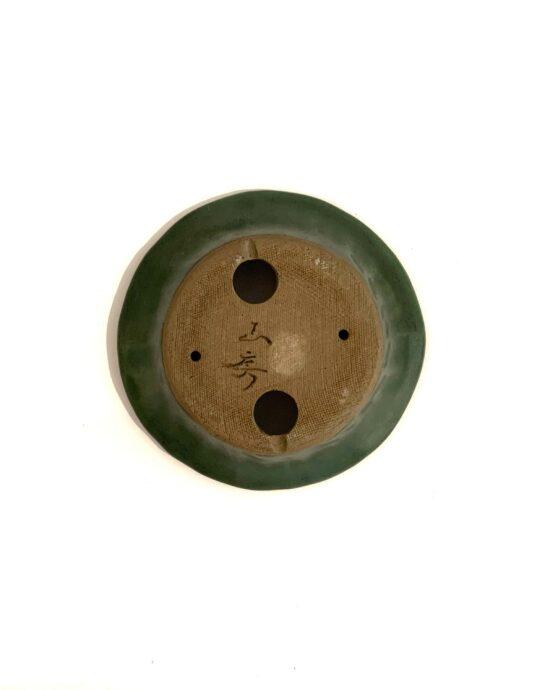 Maceta Yamafusa Verde Plato