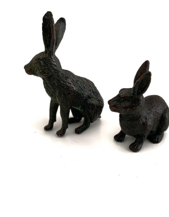Tenpai conejos bronce