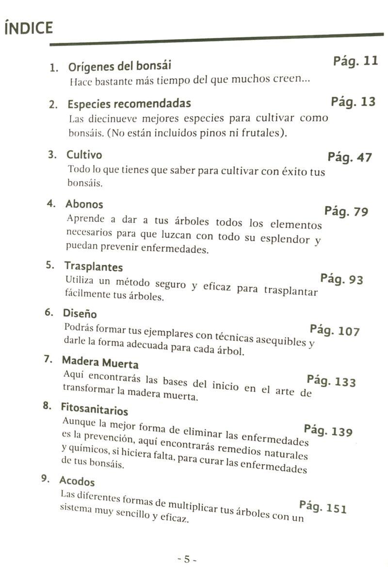 Libro bonsái Jerónimo Campoy